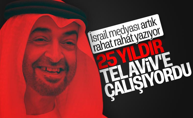 Muhammed bin Zayed 25 yıldır İsrail'e çalışıyor