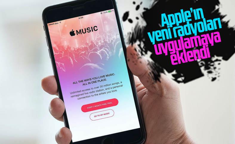 Apple'ın müzik servisi Apple Music, yeni radyolarını duyurdu