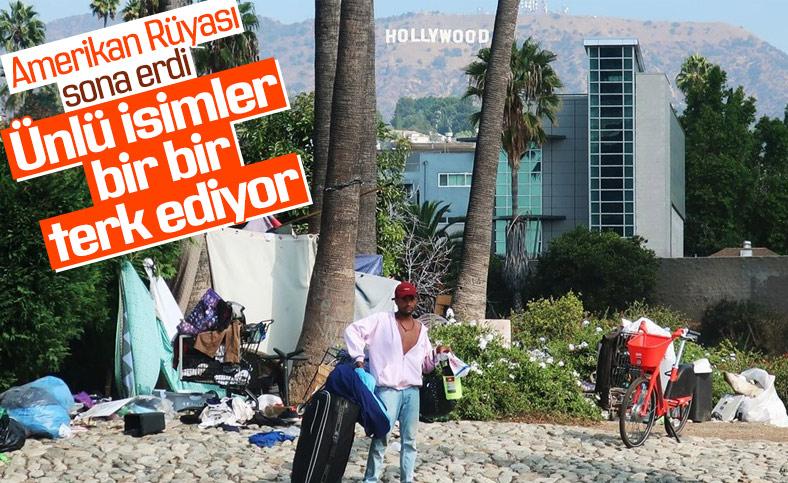Hollywood'da evsizlerin sayısı arttı