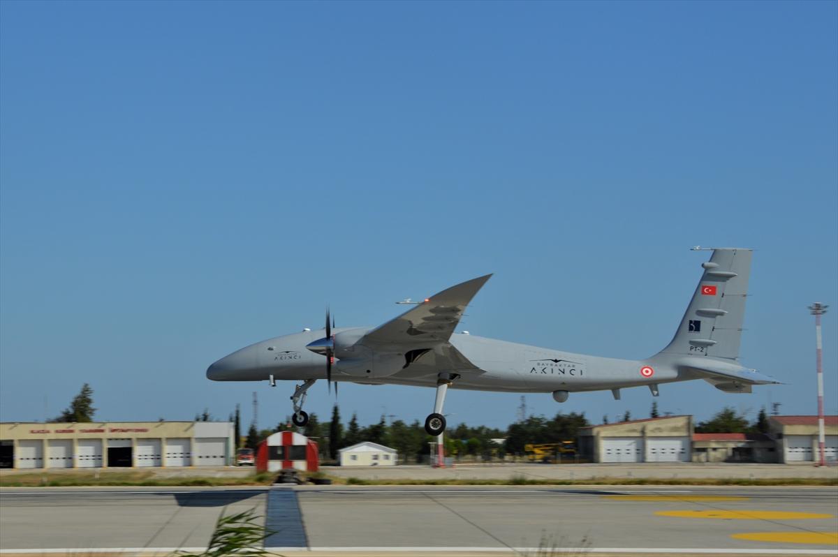 Bayraktar Akıncı Tiha nın uçuş testi, başarıyla tamamlandı #5