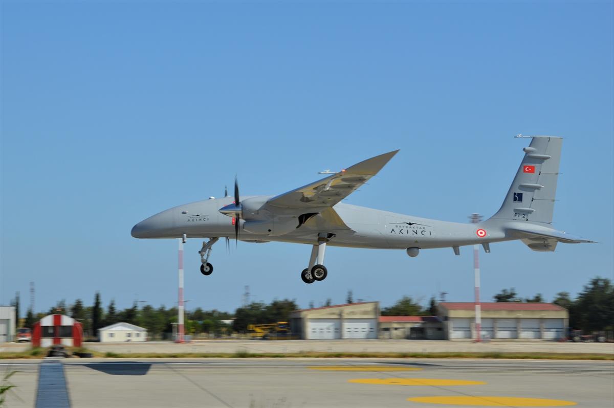 Bayraktar Akıncı Tiha nın uçuş testi, başarıyla tamamlandı #1