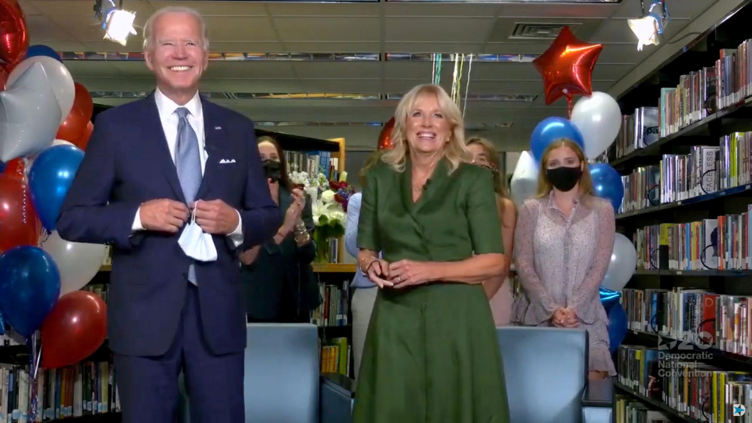 ABD de, Joe Biden resmen Demokrat Parti nin başkan adayı seçildi #1