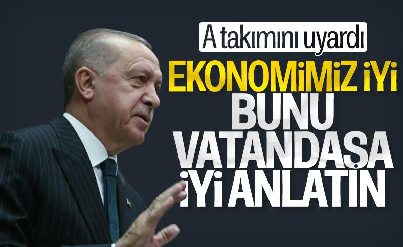 Cumhurbaşkanı Erdoğan Türkiye ekonomisini değerlendirdi