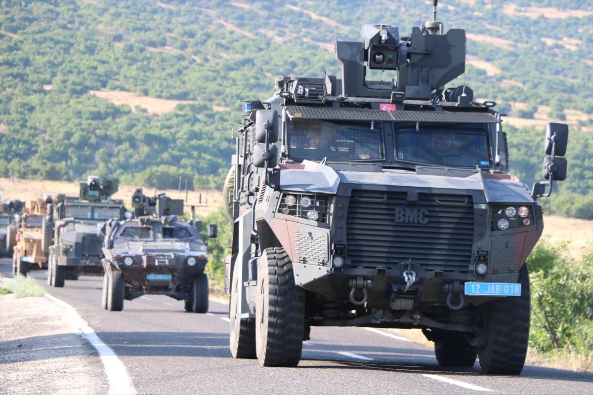 Bingöl de Yıldırım-6 Karacehennem Operasyonu başlatıldı #2