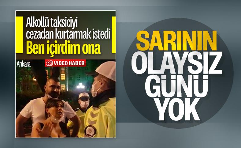 Ankara'da alkollü çıkan taksici için 'ben içirdim' savunması