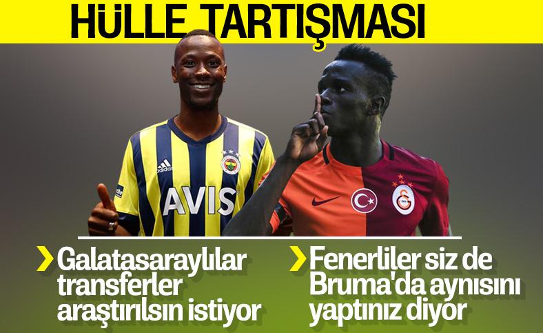 Fenerbahçeliler ile Galatasaraylıların 'hülle' tartışması