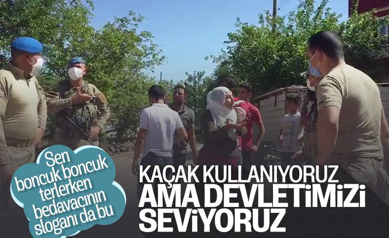 Diyarbakır'da köylüler, kaçak elektrik denetimi yapan ekipleri köye almadı