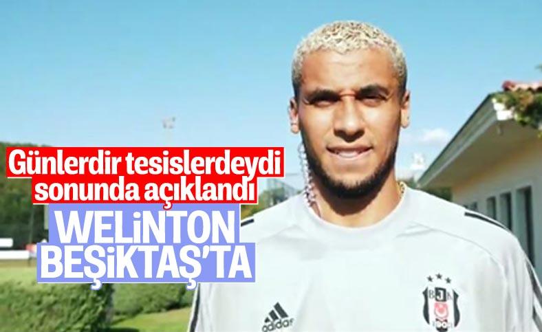 Beşiktaş, Welinton'u açıkladı
