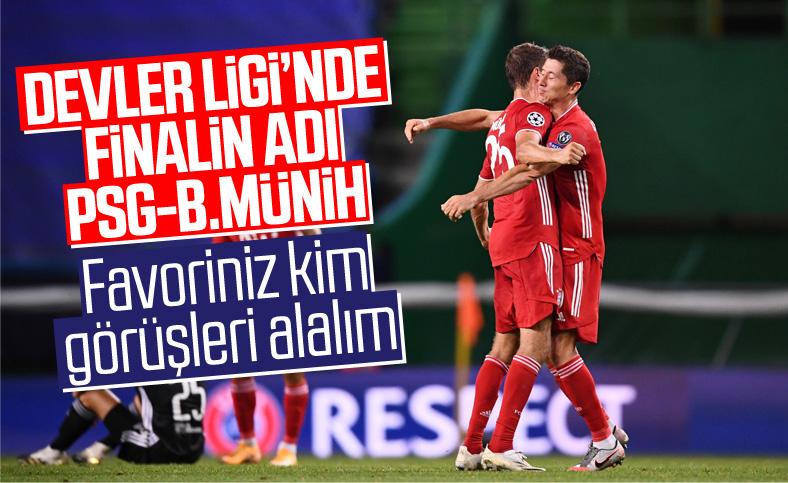 Şampiyonlar Ligi'nde Bayern Münih finalde