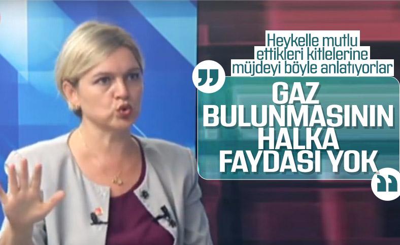 CHP'li Selin Sayek Böke'ye göre doğalgazın bulunmasının Türkiye'ye faydası yok