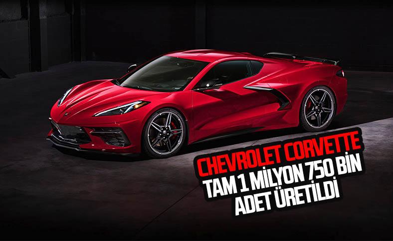 General Motors, 1 milyon 750 bininci Corvette modelini üretti