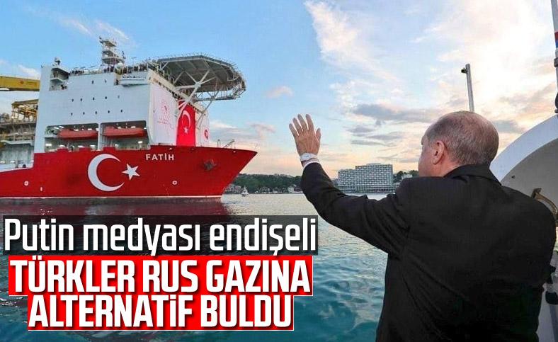 Türkiye'nin doğalgaz keşfine Rus ve Avrasya medyasından büyük ilgi