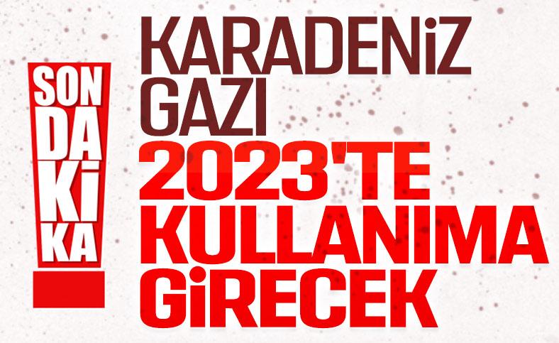 Erdoğan: Karadeniz gazını 2023'te kullanıma sunacağız