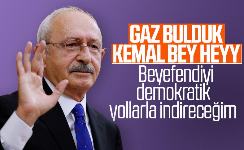 Kemal Kılıçdaroğlu'nun hedefinde Cumhurbaşkanı Erdoğan var
