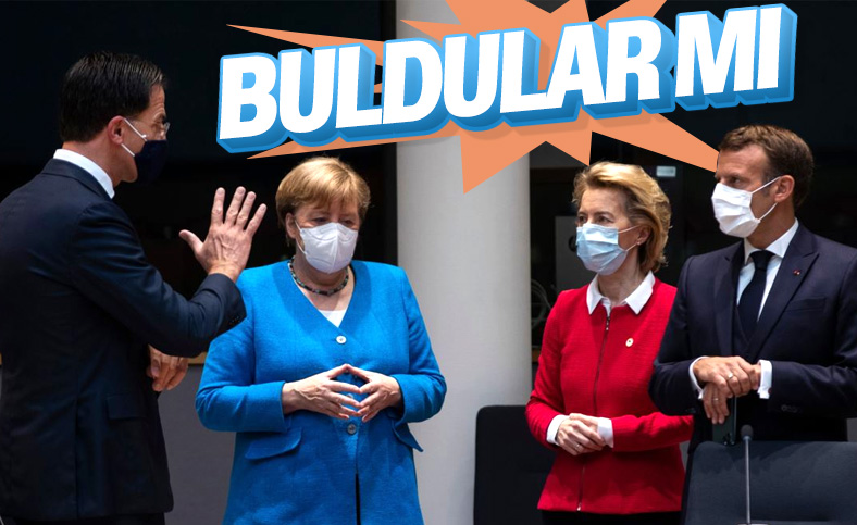 Macron ile Merkel'in gündemi Türkiye