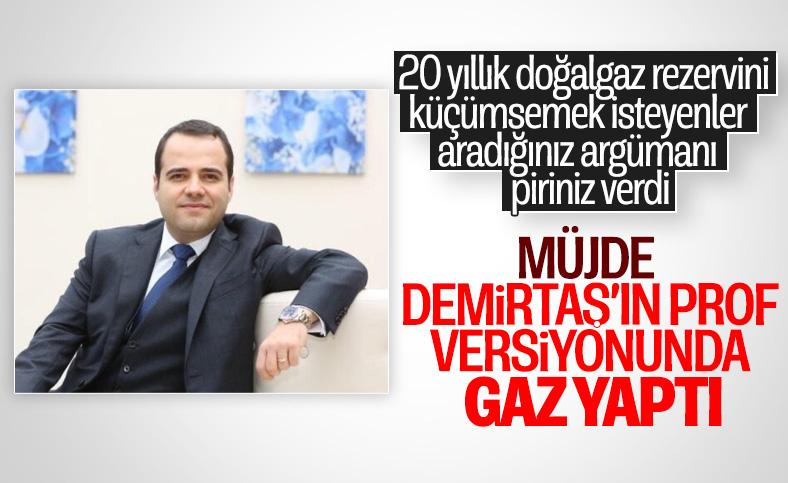 Özgür Demirtaş, Karadeniz'de bulunan doğalgaz rezervini küçümsedi