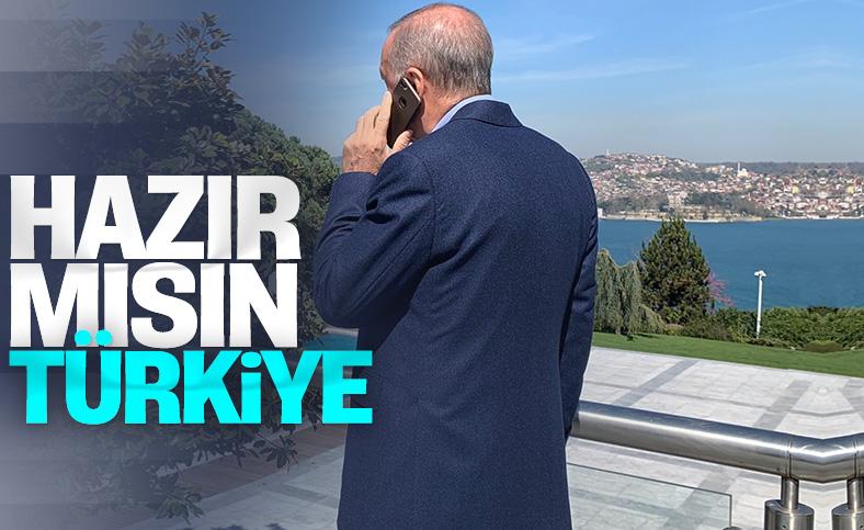Fahrettin Altun, Cumhurbaşkanı Erdoğan'ın fotoğrafını paylaştı
