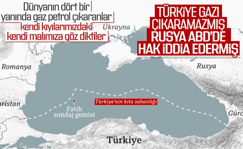 Türkiye'nin Karadeniz'deki doğalgaz keşfine göz diktiler
