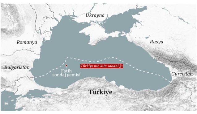 Türkiye nin Karadeniz deki doğalgaz keşfine göz diktiler #1