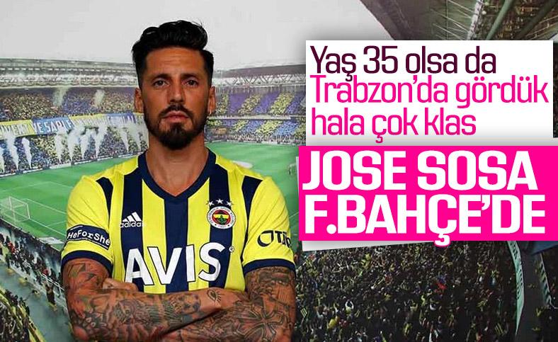 Sosa resmen Fenerbahçe'de