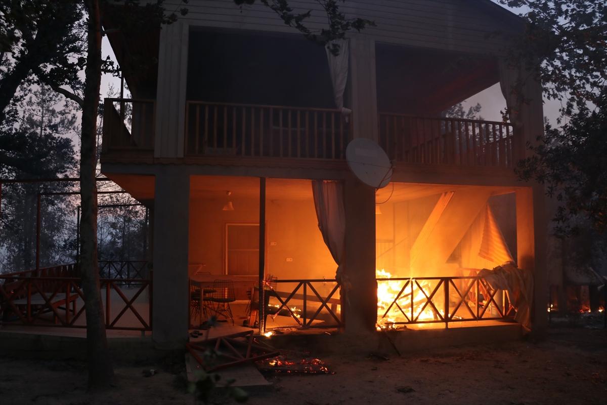 Adana da orman yangını #5