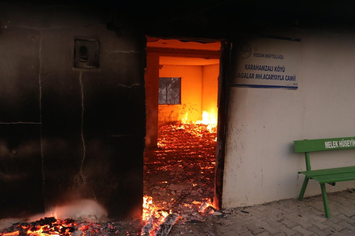 Adana da orman yangını #9
