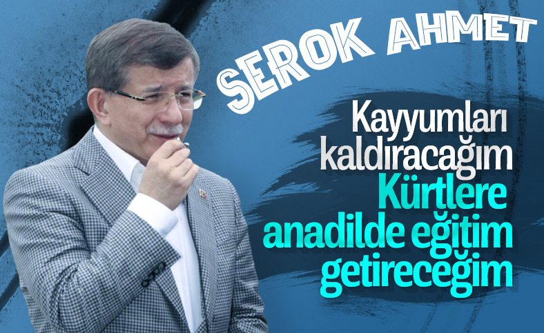 Ahmet Davutoğlu gündemine, kayyumları ve anadilde eğitimi aldı