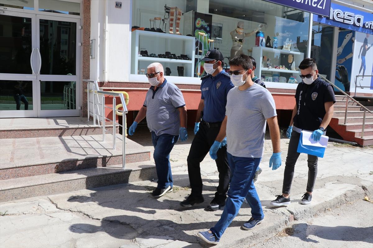 Edirne de polis ve muhtarlardan karantina denetimi #2