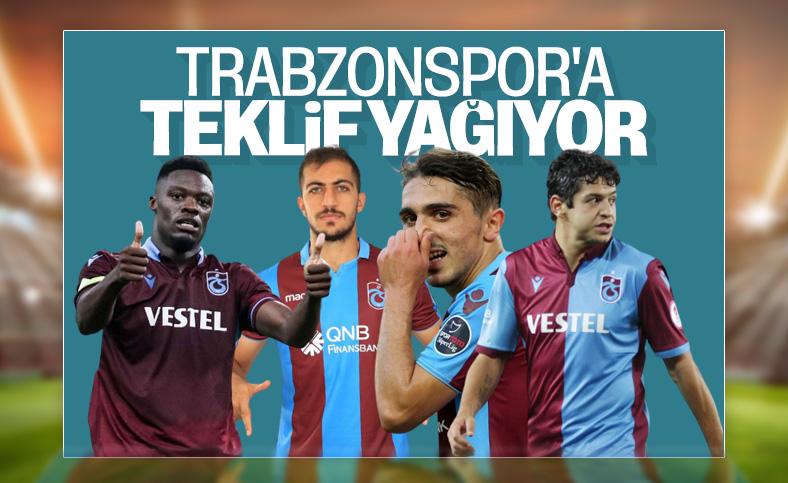 Trabzonsporlu futbolculara gelen teklifler