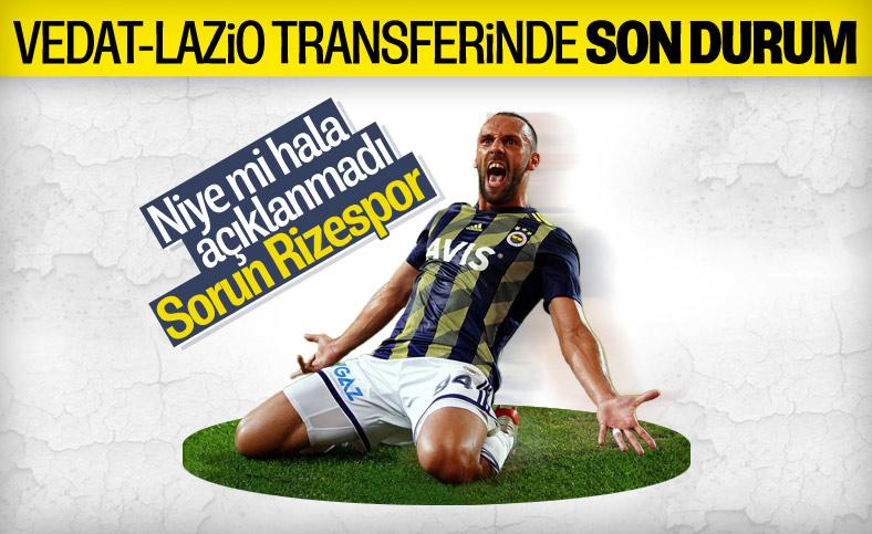 Vedat Muriç-Lazio transferinde son durum