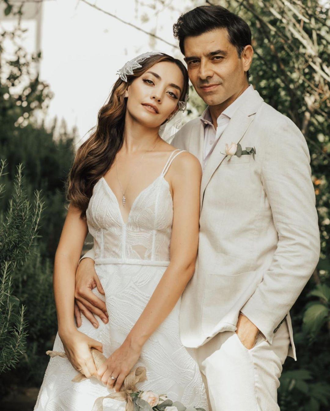 Cansel Elçin ve Zeynep Tuğçe Bayat evlendi #1