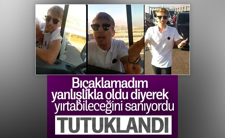 İstanbul'da trafikteki şehir magandası Muhammed Enes Uysal tutuklandı