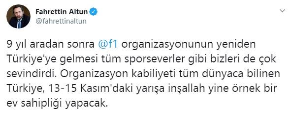 Formula 1, İstanbul a geri döndü #5