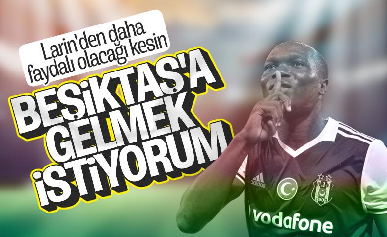 Beşiktaş'ta Aboubakar gelişmesi