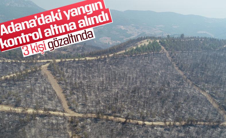 Adana'daki yangın kontrol altına alındı