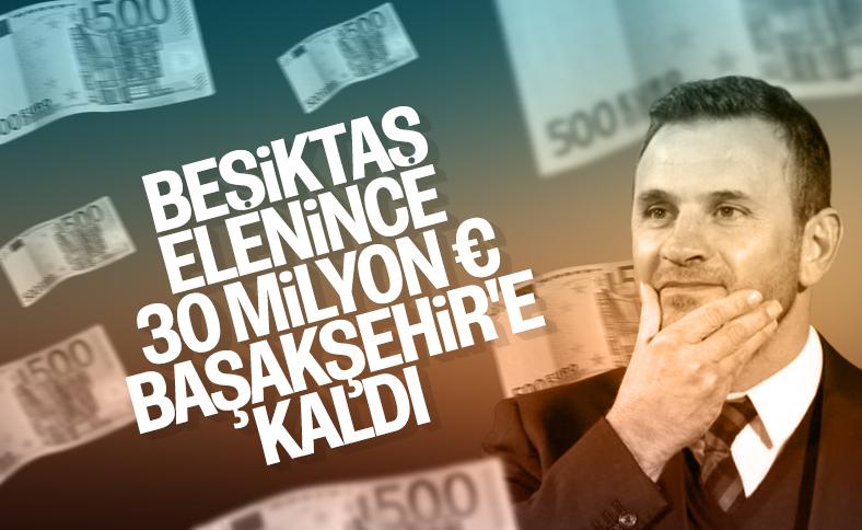 Başakşehir'in Şampiyonlar Ligi geliri: 30 milyon euro