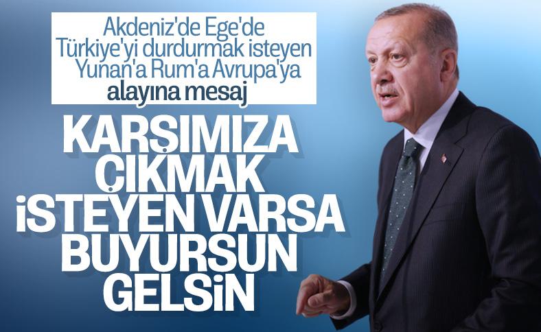 Cumhurbaşkanı Erdoğan, Malazgirt'te zaferin  949'uncu yıl dönümü etkinliklerine katıldı
