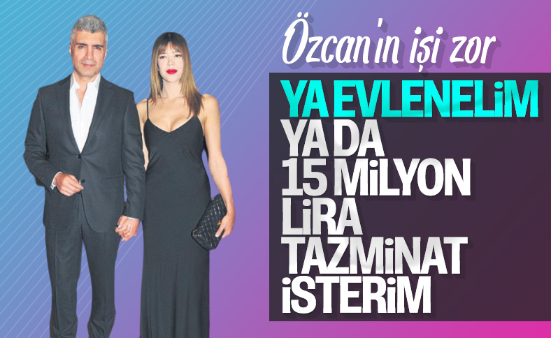 Feyza Aktan'dan Özcan Deniz'e rest