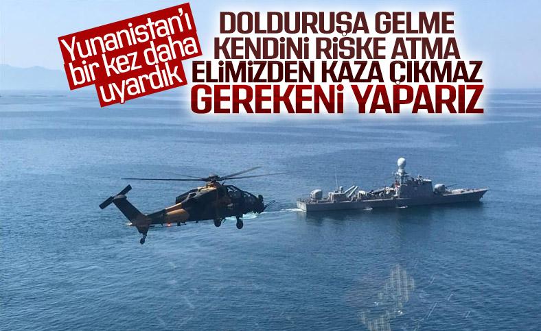 Bakan Çavuşoğlu: Doğu Akdeniz'de gerilimi artıran Yunanistan'dır