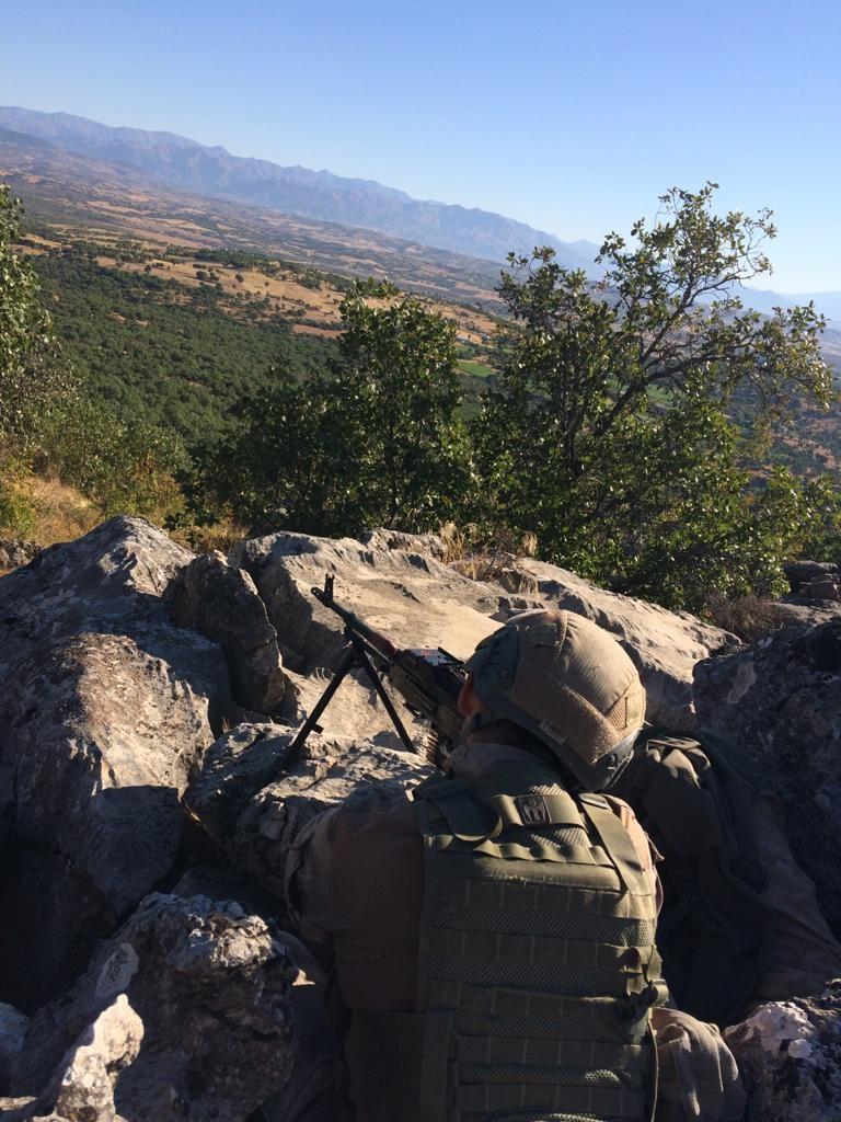 Diyarbakır da   Yıldırım-7 Lice Narko-Terör Operasyonu  başladı #7