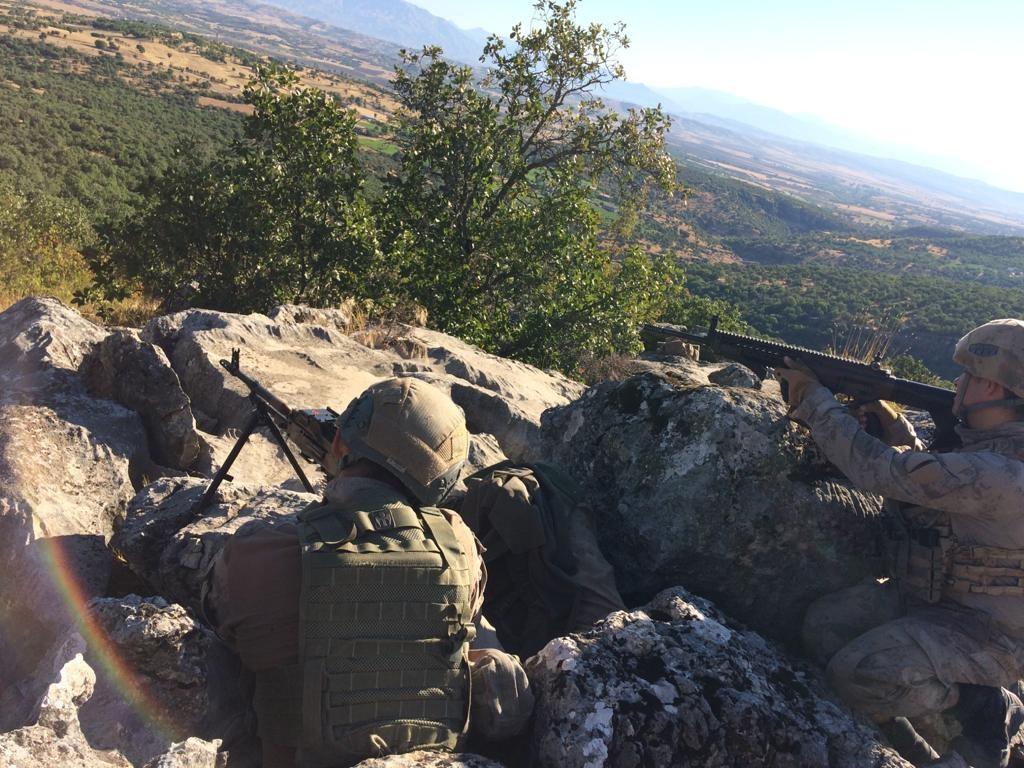 Diyarbakır da   Yıldırım-7 Lice Narko-Terör Operasyonu  başladı #1
