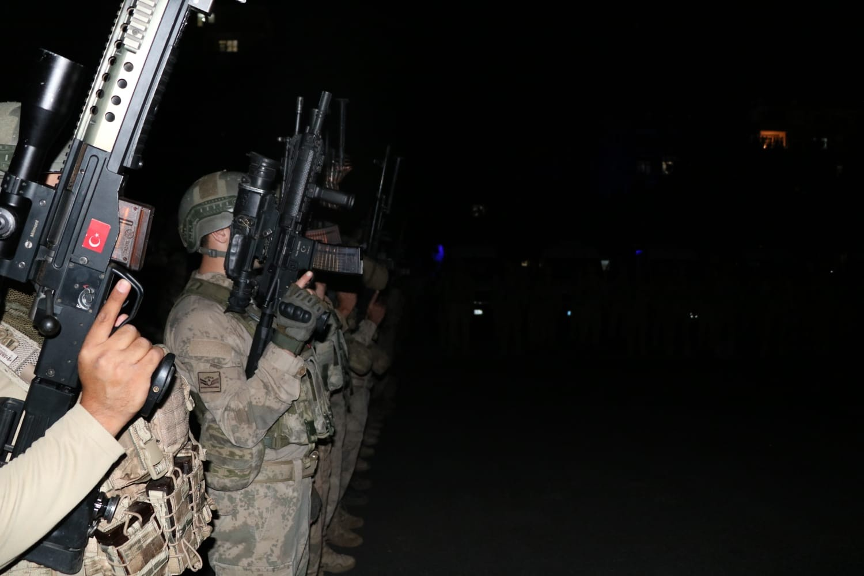 Diyarbakır da   Yıldırım-7 Lice Narko-Terör Operasyonu  başladı #2