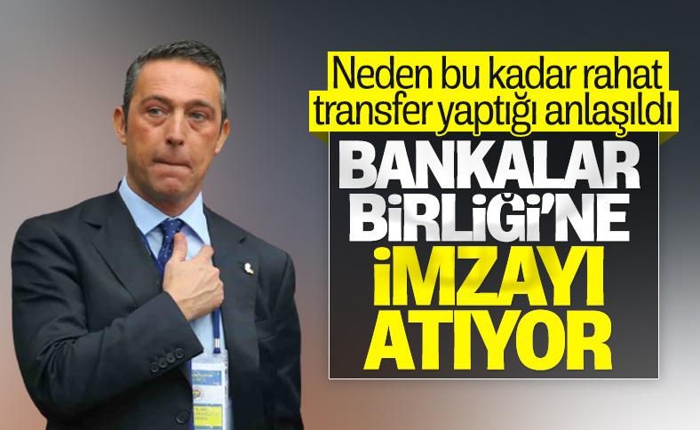 Fenerbahçe, Bankalar Birliği ile anlaşıyor