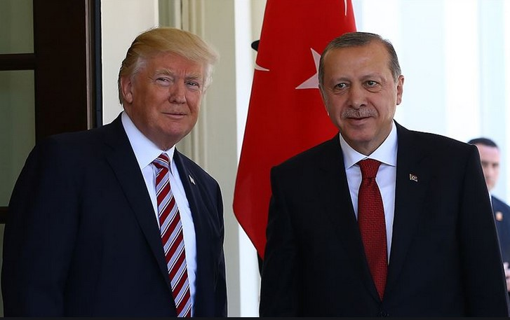 Cumhurbaşkanı Erdoğan, Trump ile görüştü #1