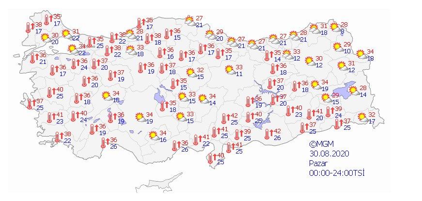 Türkiye de 5 günlük hava durumu  #4