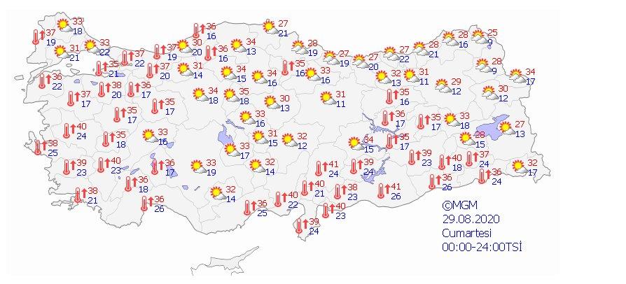 Türkiye de 5 günlük hava durumu  #3