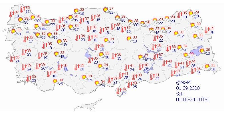 Türkiye de 5 günlük hava durumu  #6