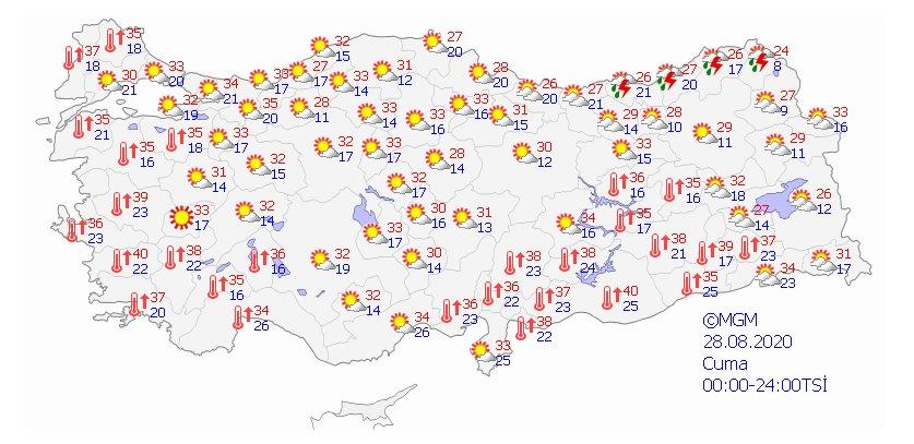 Türkiye de 5 günlük hava durumu  #2