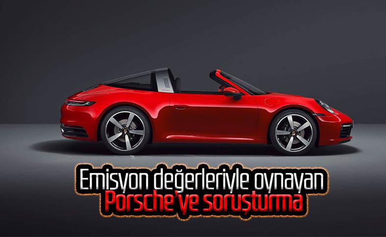 Emisyon değerleriyle oynayan Porsche hakkında soruşturma başlatıldı