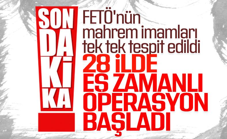 28 ilde FETÖ operasyonu: 24 şüpheli gözaltına alındı